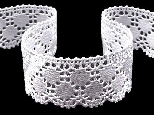 Cotton Bobbin Lace Trim width 43 mm