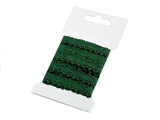 Čipka bavlnená šírka 12 mm paličkovaná