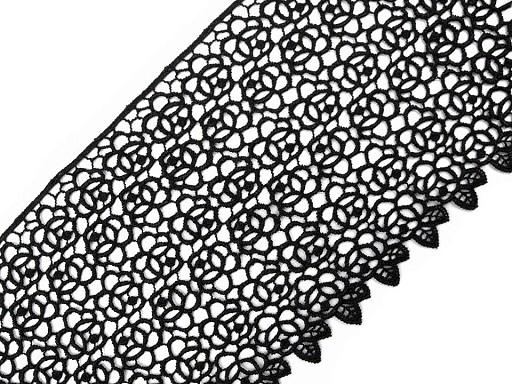 Vzdušná čipka šírka 14 cm