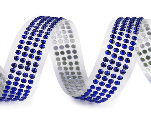 Samolepicí páska šíře 13 mm perly a kamínky
