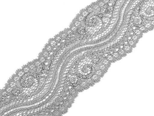 Elastická krajka / vsadka šíře 65 mm