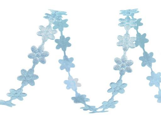 Blumenranken-Band Satin Breite 7mm
