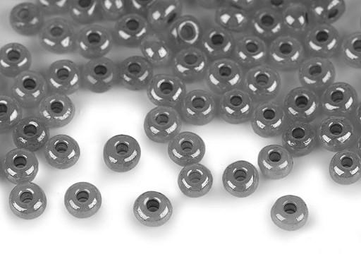 Rokajl 6/0 - 4 mm perleťový, neprůhledný