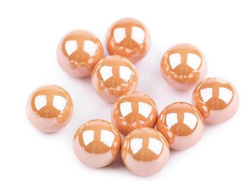 Dekoračné guľky / perly bez dierok Ø8 mm lesklé