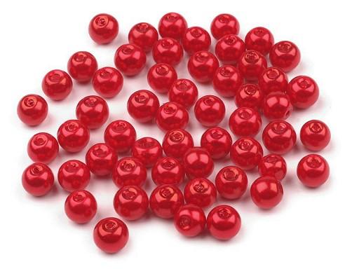 Skleněné voskové perly Ø6 mm