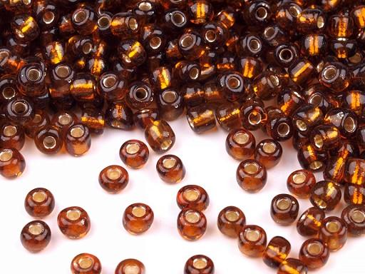 Rokail - koraliki szklane 6/0 z powlekaną dziurką 4mm