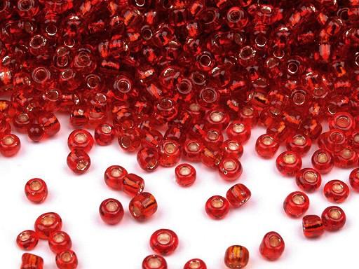 Üveg kásagyöngy 12/0 - 2 mm-es lyukkal