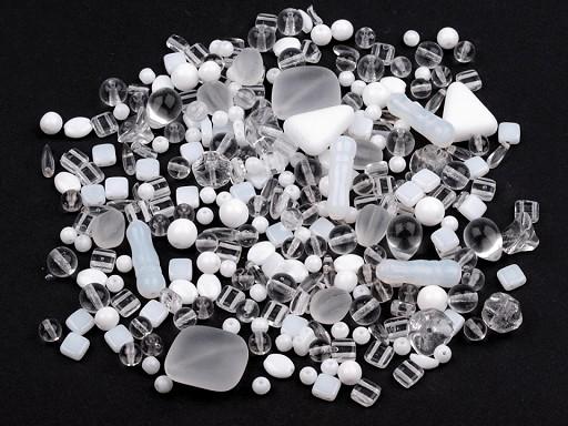 Koraliki szklane mix 2 gatunek