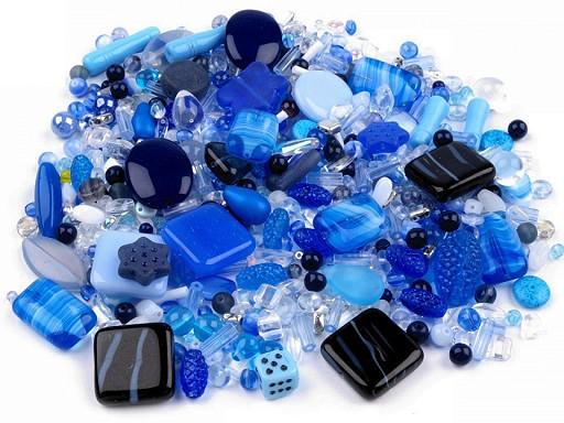 Koraliki szklane mix