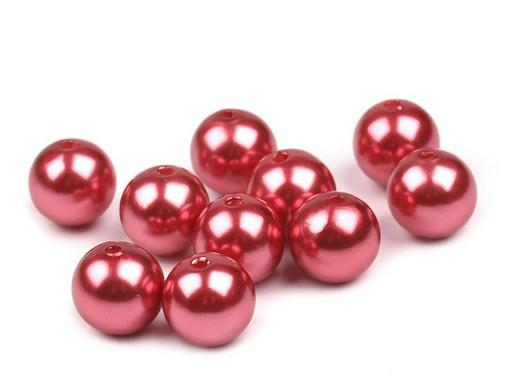 Plastové voskové korálky / perly Glance Ø12 mm