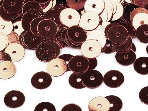 Flitry hladké Ø6 mm metalické