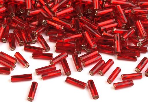 Rokail - koraliki szklane Preciosa 6mm rureczki skręcane