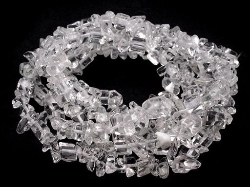 Mineral Splitterkette Kristall auf Nylonfaden