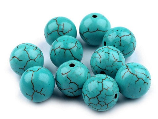 Natural Mineral / Gemstone Beads Ø12 mm