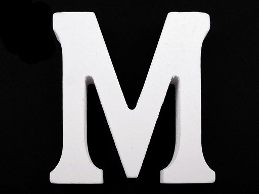 Fa dekoráció betűk