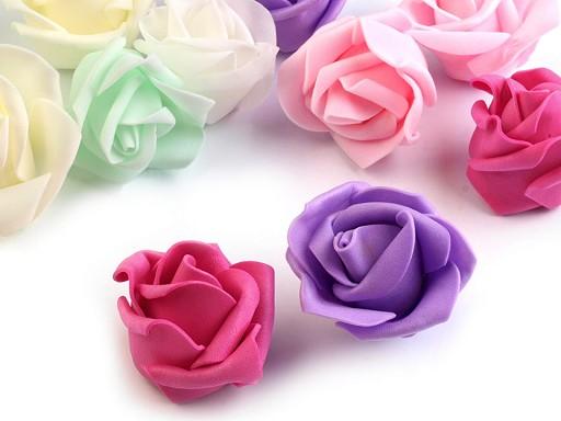 Dekorációs habszivacs rózsa Ø4,5 cm