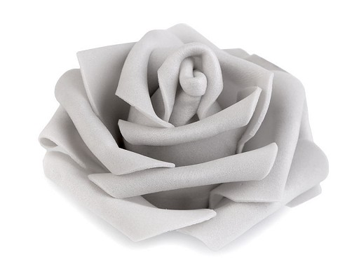 Dekorační pěnová růže Ø6 cm