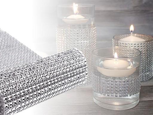 Taśma dekoracyjna diamentowa szerokość 11,5 cm 2.jakość