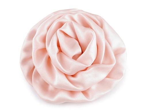 Saténová růže Ø70 mm