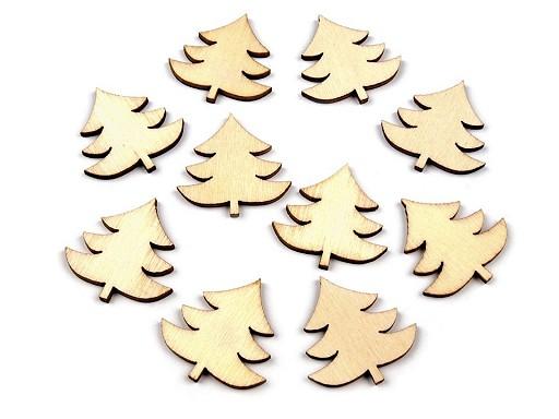 Dřevěný stromeček k nalepení / k domalování