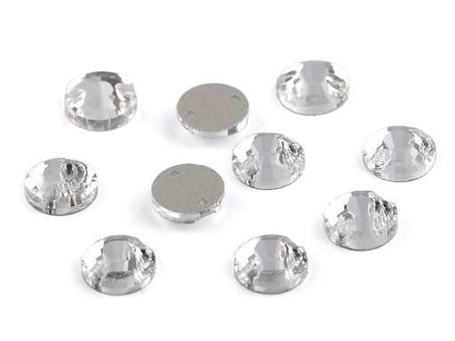Broušené kamínky našívací Ø8 mm