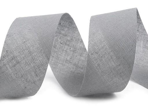 Lamówka  bawełniana szer. 30mm niezaprasowana