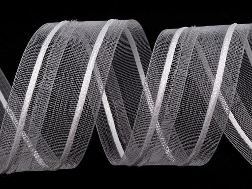 Translucent Net Pencil Pleat Curtain Heading width 40 mm