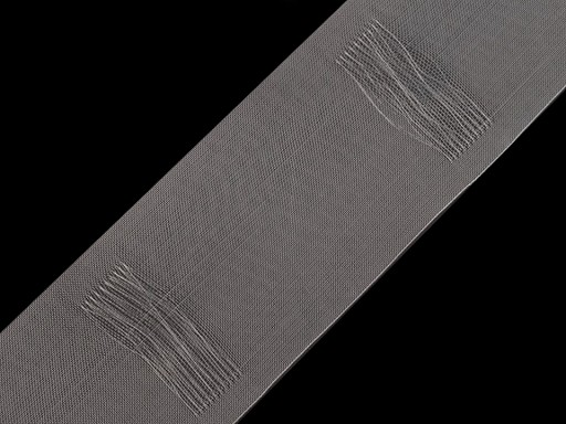 Curtain Heading translucent width 80 mm pencil pleat drapery