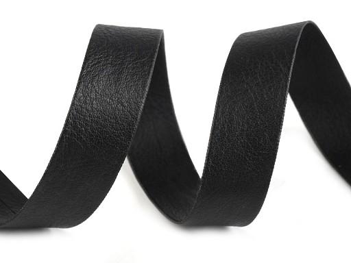 Šikmý prúžok koženkový šírka 15 mm zažehlený
