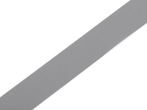 Fényvisszaverő szalag 20 mm rávarrható