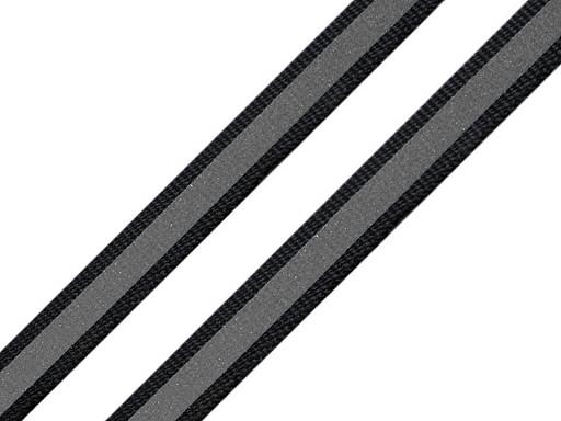 Reflexní páska šíře 10 mm na tkanině