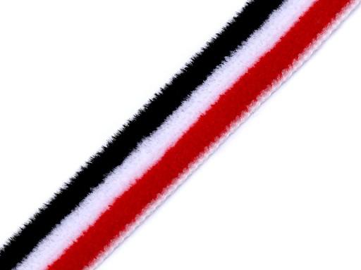 Lampas / oděvní stuha sametová šíře 10 mm