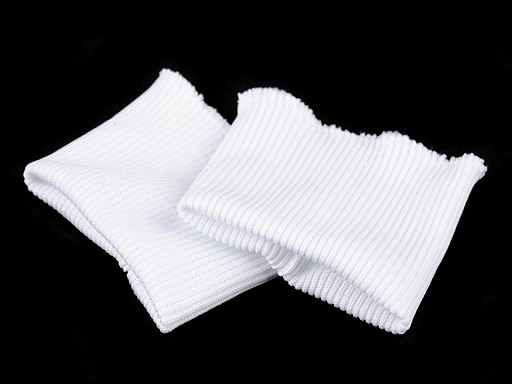 Elastické náplety na rukávy šíře 7 cm
