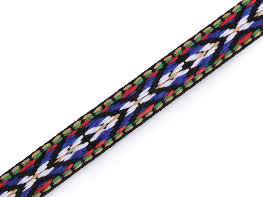 Prýmek / vzorovka indiánský motiv šíře 10 mm