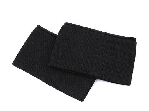 Elastické bezešvé bavlněné náplety na rukávy 5,5x20 cm