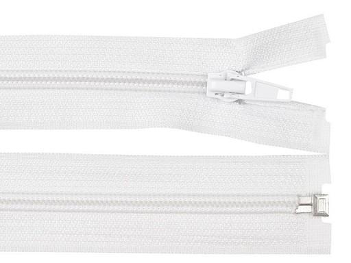 Špirálový zips šírka 5 mm dĺžka 40 cm bundový POL