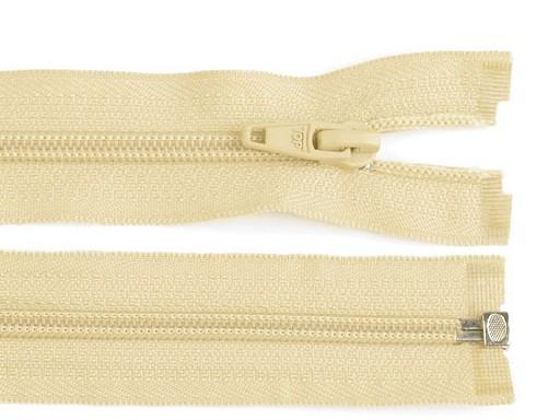 Špirálový zips šírka 5 mm dĺžka 55 cm bundový POL