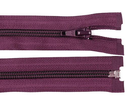 Nylon Zipper (coil) 5 mm open-end 60 cm jacket