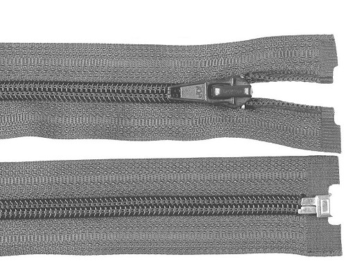Nylon Zipper (coil) 5 mm open-end 65 cm jacket