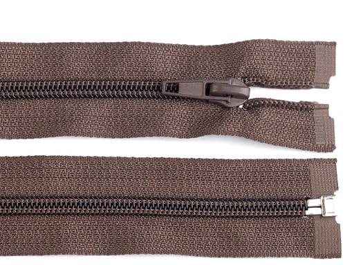 Špirálový zips šírka 5 mm dĺžka 85 cm bundový POL