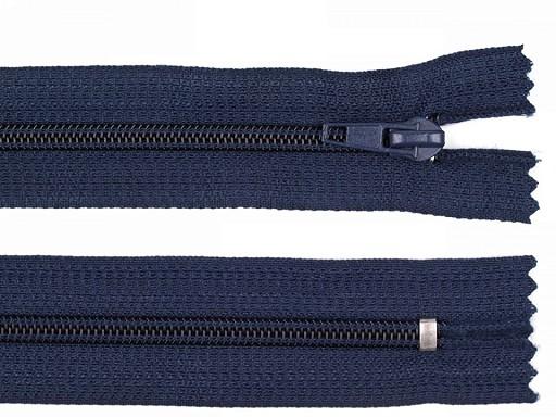 Zips špirálový 5mm,nedeliteľný 18cm POL