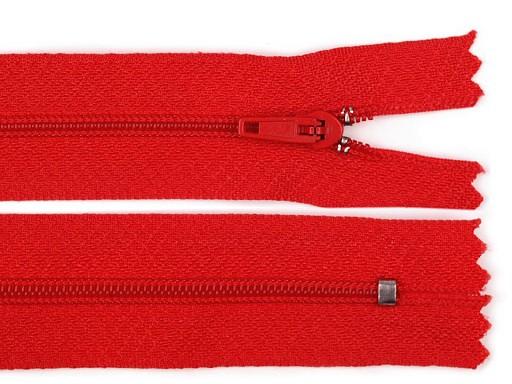 Nylon Zipper width 3 mm length 18 cm pinlock