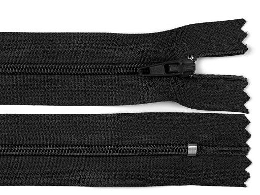 Nylon Zipper width 3 mm length 45 cm autolock