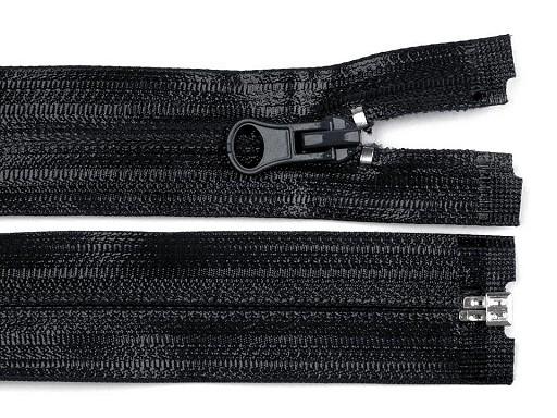 Vodeodolný zips šírka 6 mm  dĺžka 65 cm špirálový