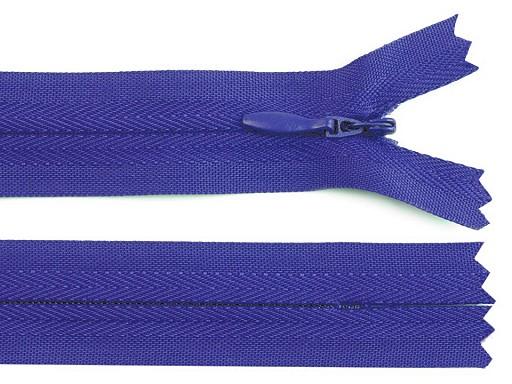Spirálový zip skrytý šíře 3 mm délka 45 cm