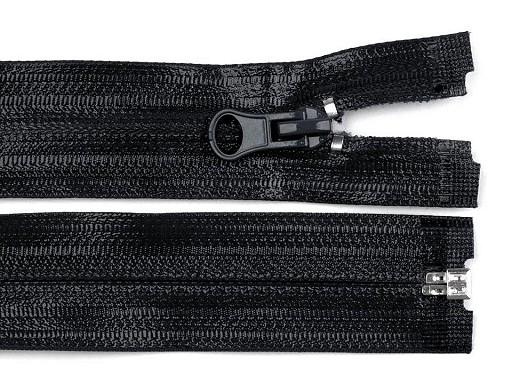 Vodeodolný zips šírka 6 mm dĺžka 80 cm špirálový