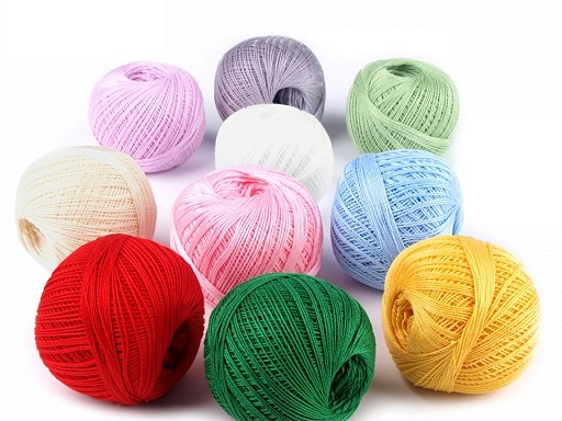 Cotton Yarn Snow-white NITARNA Czech Rep.