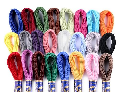 Cotton Embroidery Thread Mouline Niťárna
