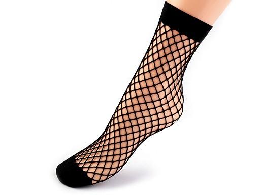 Sieťované ponožky a podkolienky
