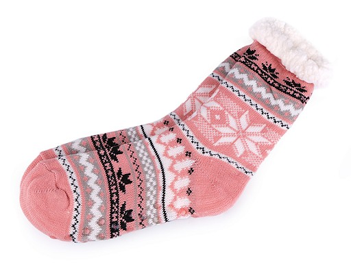 Anti-Rutsch-Socken für Winter, Wolle